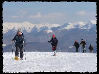 S...ciasponando sulle nevi: 2 giorni con ciaspole e sci nel Parco Nazionale d'Abruzzo